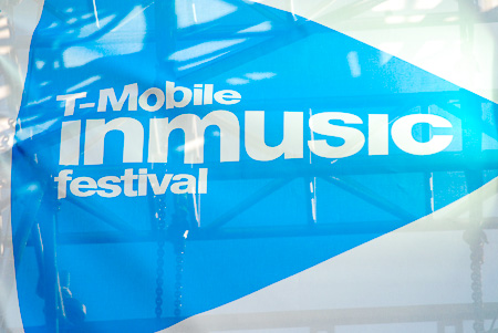 [ T-mobile INmusic festival flag ]