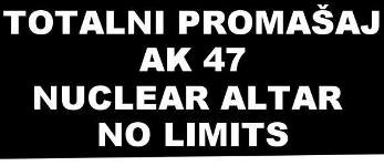 cover: Totalni Proma�aj + AK 47 + Nuclear Altar + No Limits @ Attack, 22/11/2014
