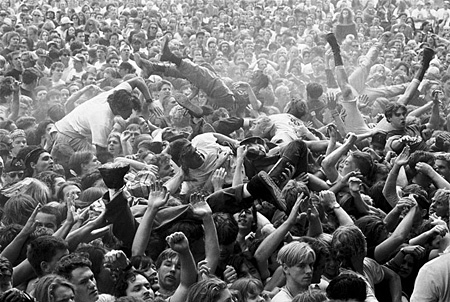 [ Mosh Pit at Endfest, Kitsap County, Washington, 1991 ]