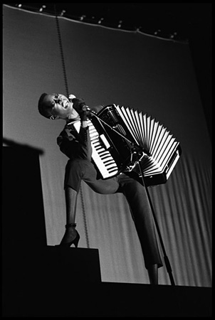 [ Grace Jones Performing at Drury Lane Theatre, London, 1981 ]