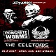 cover: Concrete Worms, Bomber & The Celetoids @ AKC Attack, Zagreb 31/03/2017