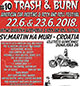 cover: TRASH & BURN 10 - american car meeting & rock and roll festival @ Sveti Martin na Muri, 22-23/06/2018